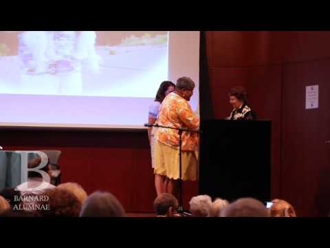 Barnard College Reunion 2011: Alumnae Awards Ceremony