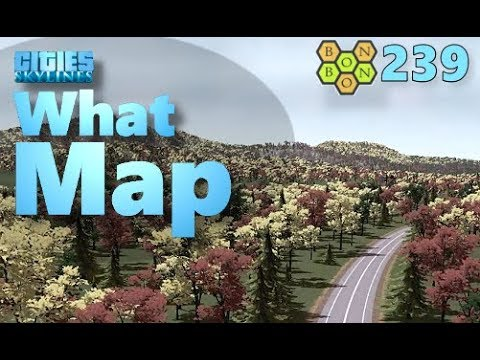 Cities Skylines - What Map - Map Review 239 - Autumn in New England