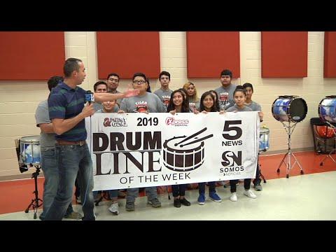 DRUMLINE: Mercedes High School