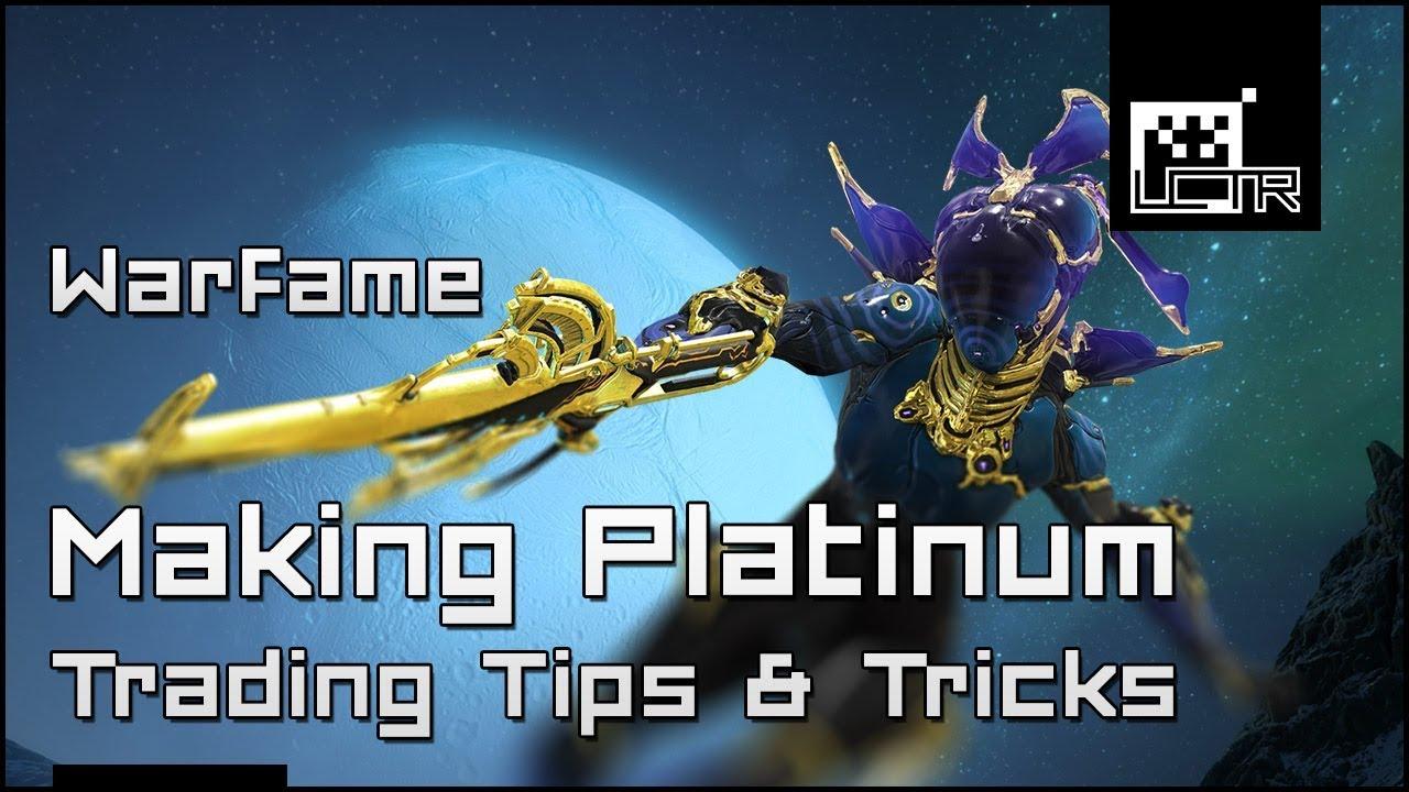 how to send platinum in warframe