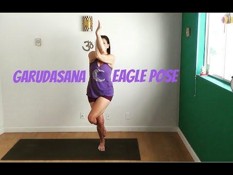 garudasana eagle pose yoga basics with shana meyerson YOGAthletica