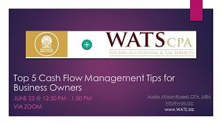Top 5 Cash Flow Management Tips for Business Owners