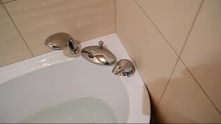 Установка смесителя прямо в корпус ванны ч.1(В ролике показан смеситель для ванной,который монтируется прямо в корпус ванны,в этом видео показано с..., 2014-12-05T09:57:16.000Z)
