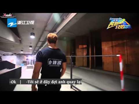 [Vietsub] Angelababy trao đổi với Kim Joong Kook (RunningMan China Cut)