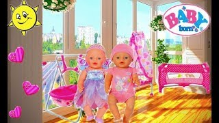 как сделать комнату для кукол беби бон