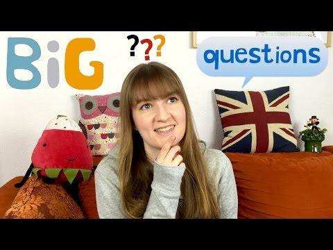 Speaking German | BiG questions