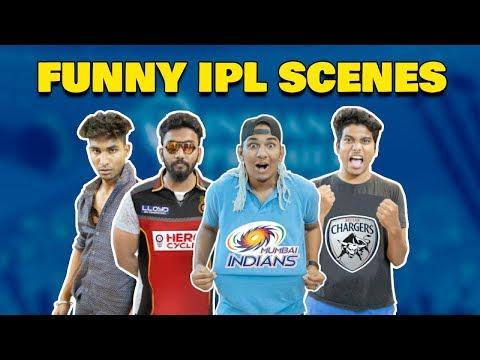 Funny IPL Scenes   Hyderabadi Comedy   Warangal Diaries