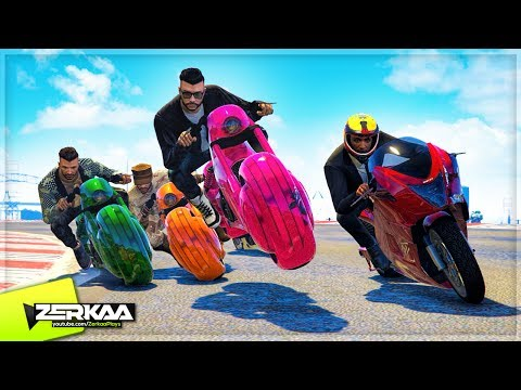 THE FASTEST BIKE RACE EVER! (GTA 5)