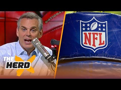 Colin Cowherd 3-Word Game for the 2018-19 NFL Season | NFL | THE HERD