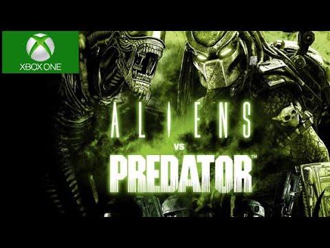 Aliens vs Predator Xbox One X Backwards Compatible Gameplay
