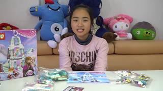 Bộ đồ chơi Lego xếp hình tòa lâu đài công chúa Frozen Elsa Đồ chơi trẻ em MN Toys