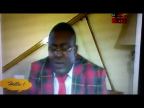 Dr. Nicolas Santos Defines mental Illness on Cameroon National Television  (Sorry for poor quality.
