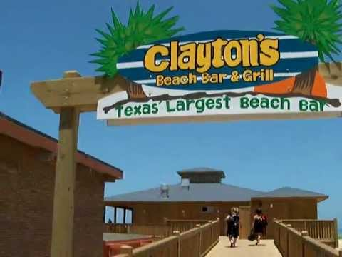 Clayton S Beach Bar On South Padre Island Texas