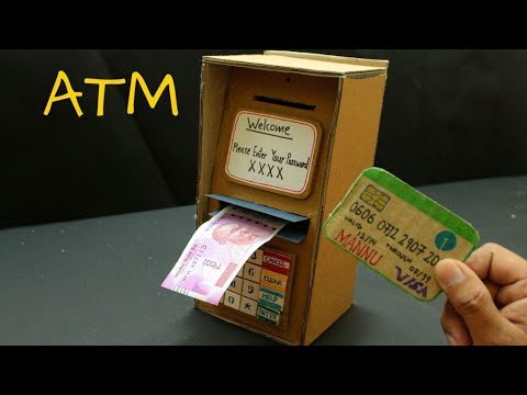 ATM DIY | How to make Kids ATM