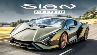 NEW Lamborghini Sian FKP 37: 808 hp, V12 Hybrid Supercar - First Drive Review | Carfection 4k
