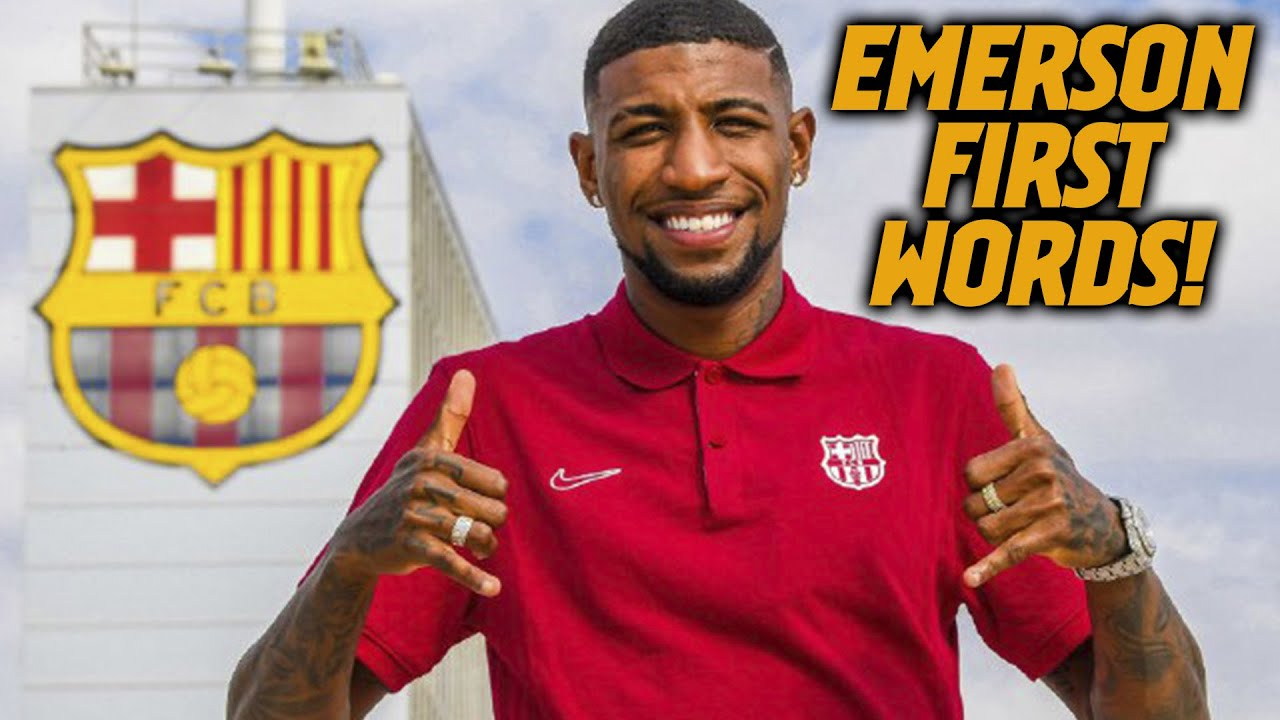 🚨 EMERSON ROYAL'S FIRST WORDS AS A BARÇA PLAYER (EXCLUSIVE!!!)