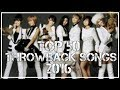 Top 50 throwbacks megan mp3