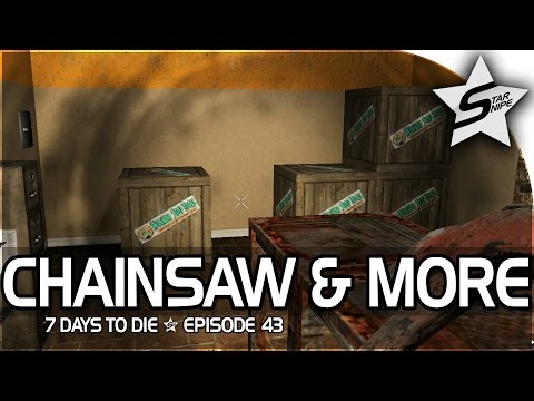 "7 Days to Die Xbox One Gameplay Part 43 - ""CHAINSAW, NAIL GUN, CALIPERS!!"""