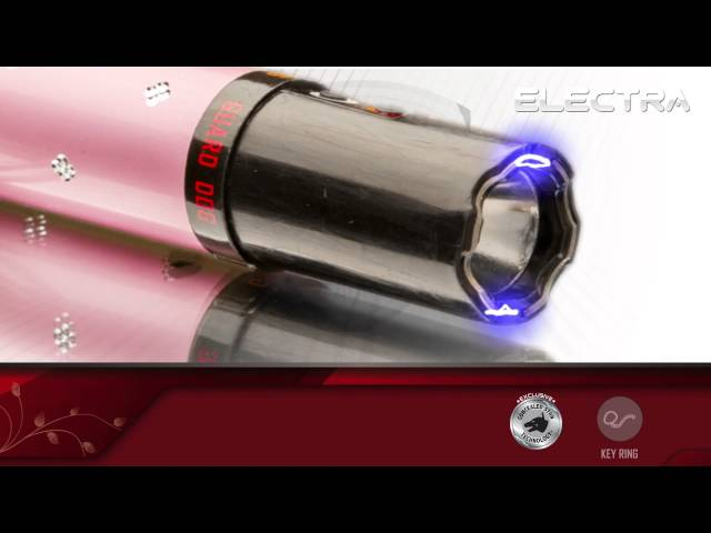 Guard Dog Electra - Lipstick Concealed Stun Gun w/ Flashlight