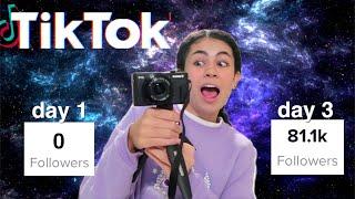 I got TikTok famous in 3 DAYS