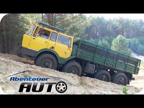 Offroad - Mit dem Tatra 8x8 über Stock und Stein | Abenteuer Auto Classics