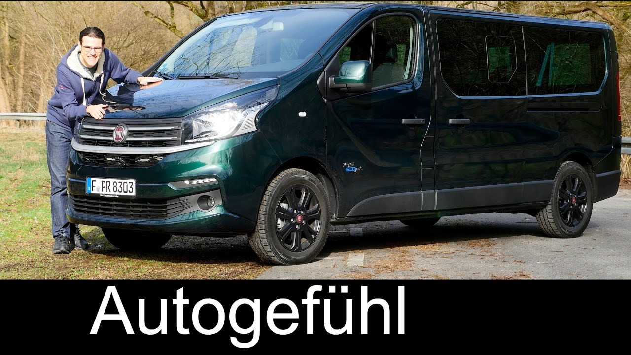 fiat talento full review test driven combi minibus vs. Black Bedroom Furniture Sets. Home Design Ideas