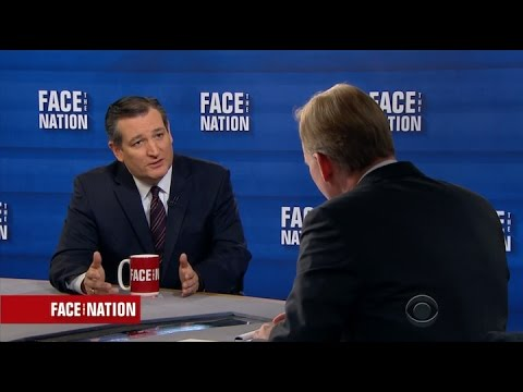 Sen. Cruz on CBS' Face The Nation - March 19, 2017