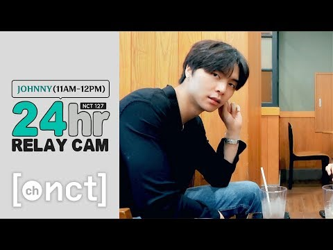 🕐JOHNNY : 11am-12pm|NCT 127 24hr RELAY CAM (With. 재현)