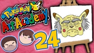 Pokemon Art Academy: Hitting the Weights! - PART 24 - Grumpcade