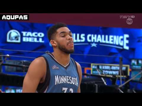 2016 NBA All Star Weekend   Taco Bell Skills Challenge   Full Highlights