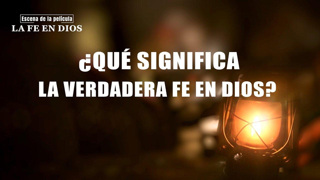 """Película evangélica """"La fe en Dios"""" Escena 6 - ¿Qué significa la verdadera fe en Dios? (Español Latino)"""