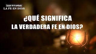 """Película evangélica """"La fe en Dios"""" Escena 6 (Español Latino)"""