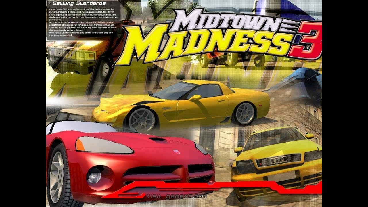 Midtown Madness 3 - xbox - Walkthrough and Guide - Page 1 - GameSpy