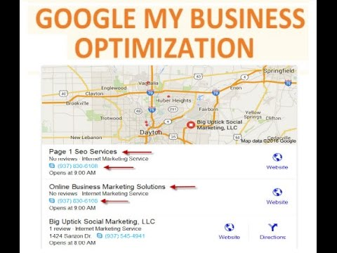 Google My Business | Dayton Ohio | Get Your Business On Google Maps ...