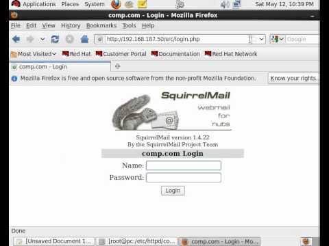 Squirrelmail Configuration Part - III