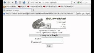 Squirrelmail Configuration Part - III
