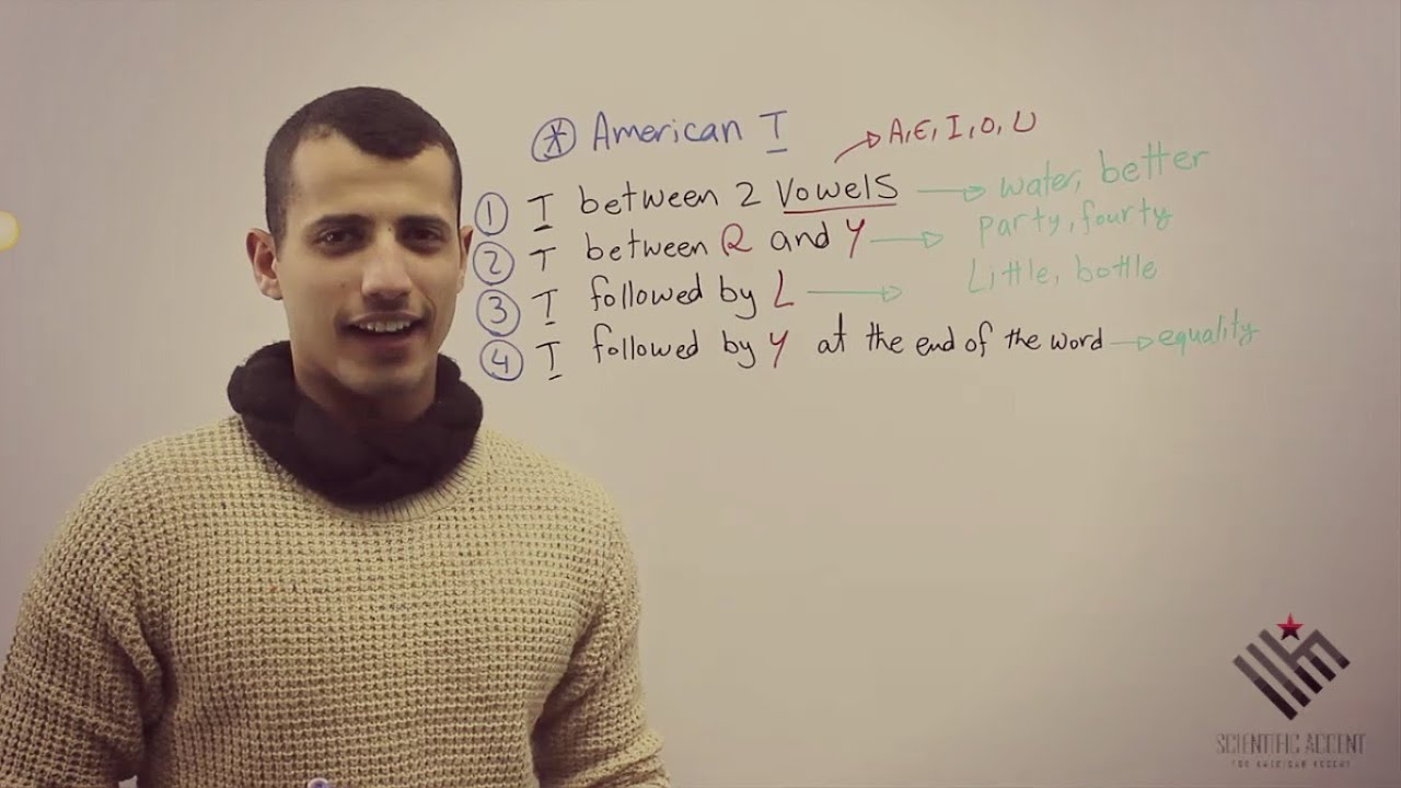 how to understand american accent