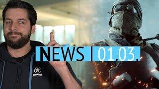 Alle Battlefield-1-DLCs vorgestellt - Spiele-Flatrate Game Pass für Xbox One angekündigt - News