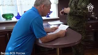 С пакетами на головах: момент задержания трех дагестанских чиновников (ВИДЕО)