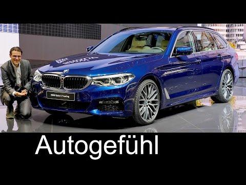 BMW 5-Series Touring REVIEW 5er Touring G31 neu all-new Geneva Motor Show - Autogefuehl