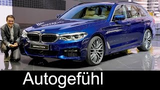 BMW 5-Series Touring REVIEW 5er Touring G31 neu all-new Geneva Motor Show - Autogefuehl