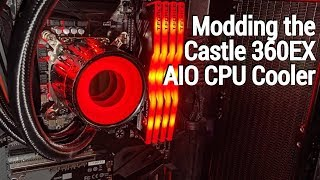 Tearing Down and Modding the Deepcool Castle 360EX CPU Cooler!