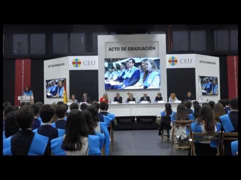 Discurso representante de alumnos | Graduación 2º Bachillerato Colegios CEU Madrid 2017