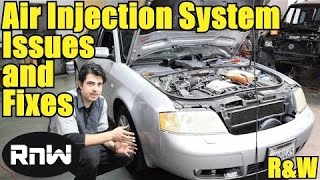 Video Secondary Air Injection Pump System Operation and Diagnosis - VW Passat Audi A4 A6 Mercedes Benz download MP3, 3GP, MP4, WEBM, AVI, FLV Juli 2018
