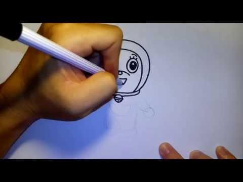 โดเรมี่ จาก การ์ตูน โดราเอม่อน by วาดการ์ตูนกันเถอะ สอนวาดรูป การ์ตูน