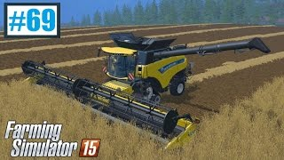 New Holland CR10.90 w akcji [+ Holmer DLC info] (Farming Simulator 15 #69), gameplay pl