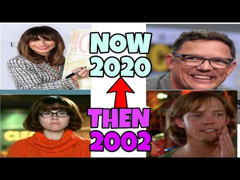 Scooby Doo 2002 Cast Then And Now 2020 Youtube