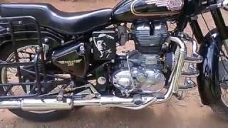 Gambar cover ROYAL ENFIELD STANDARD 350 UCE WITH MANUEL DECOMPRESSOR AFTER 3000 KM (PART 3 SLOW SPEED)