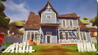 Hello Neighbor Free Roam Gameplay