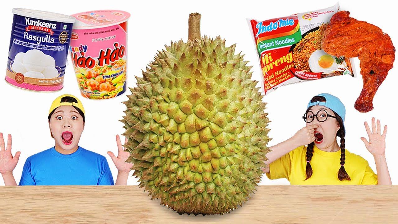 Durian Migoreng Noodle Indonesia Food DONA Mukbang